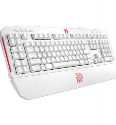 曜越 Tt eSPORTS 拓荒者 MEKA G-Unit 雪白版 電競鍵盤 KB-MGU006USE